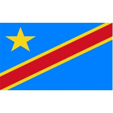 Congo Democratic Republic Flag Outdoor Nylon