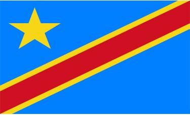 Congo Democratic Republic Flag Outdoor Nylon
