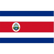 Costa Rica Flag Outdoor Nylon