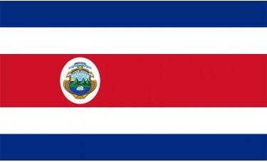 Costa Rica Flag Outdoor Nylon