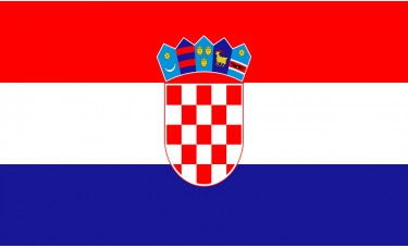 Croatia Flag Outdoor Nylon