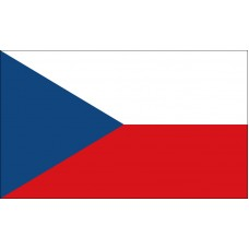 Czech Republic Flag Outdoor Nylon