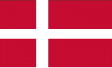 Denmark Flag Outdoor Nylon