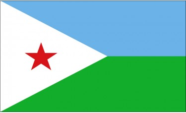 Djibouti Flag Outdoor Nylon