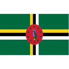 Dominica Flag Outdoor Nylon