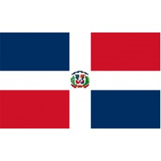 Dominican Republic Flag Outdoor Nylon