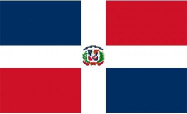 Dominican Republic Flag Outdoor Nylon