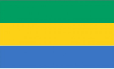 Gabon Flag Outdoor Nylon