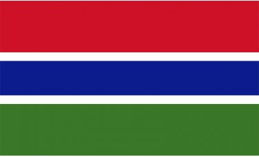 Gambia Flag Outdoor Nylon