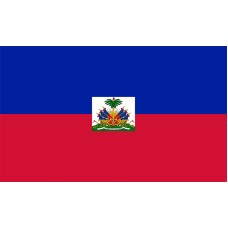 Haiti Flag Outdoor Nylon