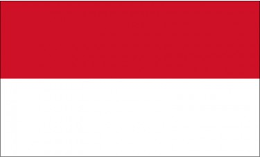 Indonesia Flag Outdoor Nylon