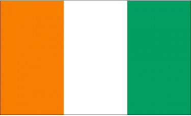 Ivory Coast Flag Outdoor Nylon