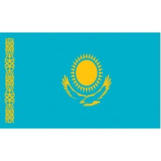 Kazakhstan Flag Outdoor Nylon