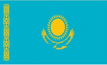 Kazakhstan Flag Outdoor Nylon