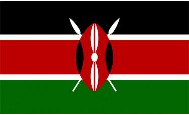 Kenya Flag Outdoor Nylon
