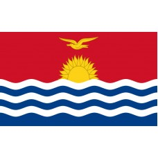 Kiribati Flag Outdoor Nylon