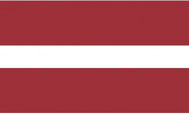 Latvia Flag Outdoor Nylon
