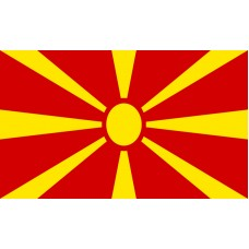 Macedonia Flag Outdoor Nylon
