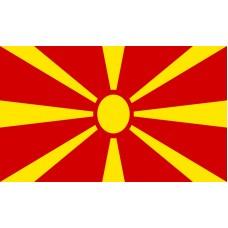 Macedonia Flag Outdoor Nylon