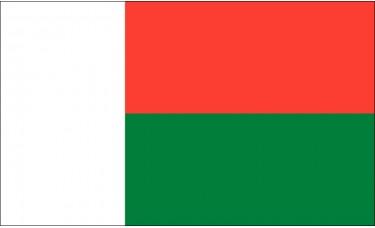 Madagascar Flag Outdoor Nylon