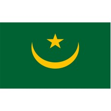 Mauritania Flag Outdoor Nylon