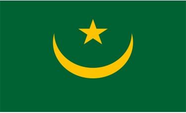 Mauritania Flag Outdoor Nylon