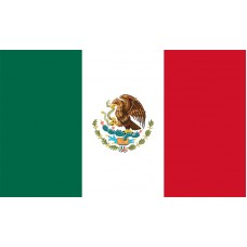 Mexico Flag Outdoor Nylon