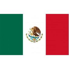 Mexico Flag Outdoor Nylon