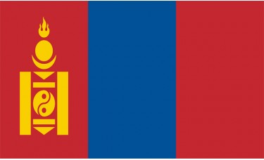 Mongolia Flag Outdoor Nylon