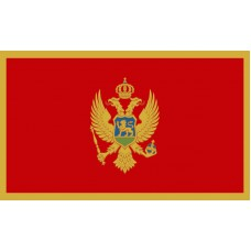 Montenegro Flag Outdoor Nylon