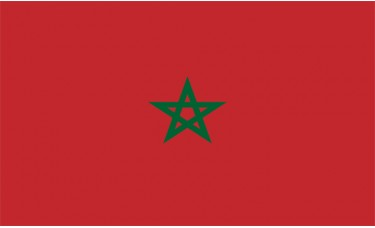 Morocco Flag Outdoor Nylon
