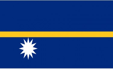 Nauru Flag Outdoor Nylon