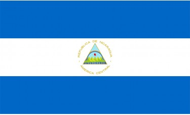 Nicaragua Flag Outdoor Nylon