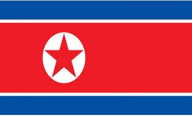 North Korea Flag Outdoor Nylon