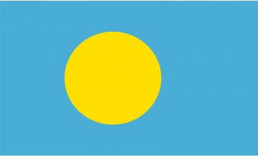 Palau Flag Outdoor Nylon