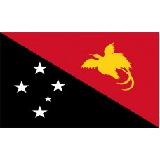 Papua New Guinea Flag Outdoor Nylon