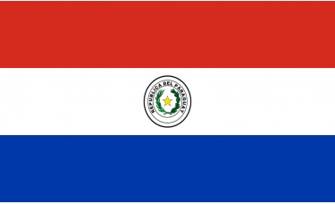 Paraguay Flag Outdoor Nylon