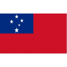 Samoa Flag Outdoor Nylon