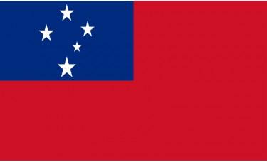 Samoa Flag Outdoor Nylon