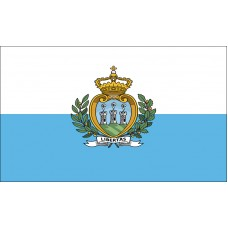 San Marino Flag Outdoor Nylon