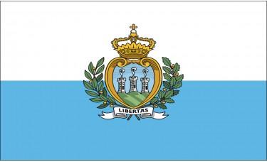 San Marino Flag Outdoor Nylon