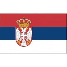 Serbia Flag Outdoor Nylon