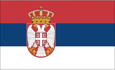 Serbia Flag Outdoor Nylon
