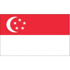 Singapore Flag Outdoor Nylon