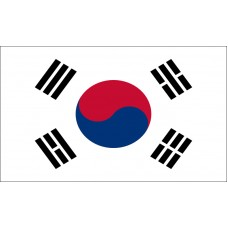 South Korea Flag Outdoor Nylon