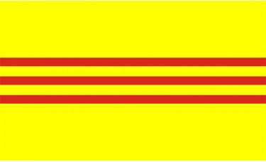 South Vietnam Flag Outdoor Nylon