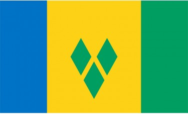 St. Vincent & Grenadines Flag Outdoor Nylon