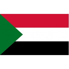 Sudan Flag Outdoor Nylon
