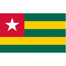 Togo Flag Outdoor Nylon