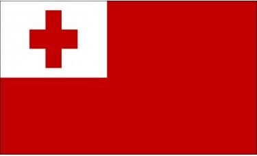 Tonga Flag Outdoor Nylon